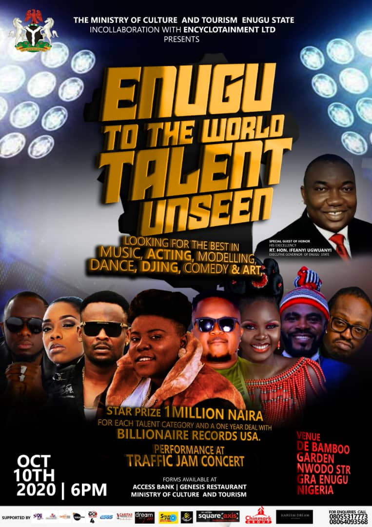 Anticipated!!! Be The Next Star At Enugu To The World Talent Unseen