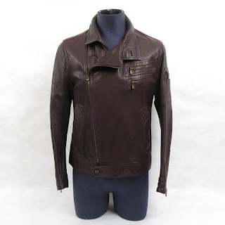 Dolce & Gabbana Lambskin Moto Jacket