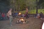 Ohnivci zapalují oheň