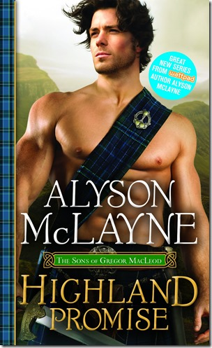 Review: Highland Promise (The Sons of Gregor MacLeod #1) by Alyson McLayne | About That Story
