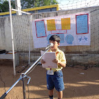 Special Assembly on Peace Day (Primary) 21.09.2015