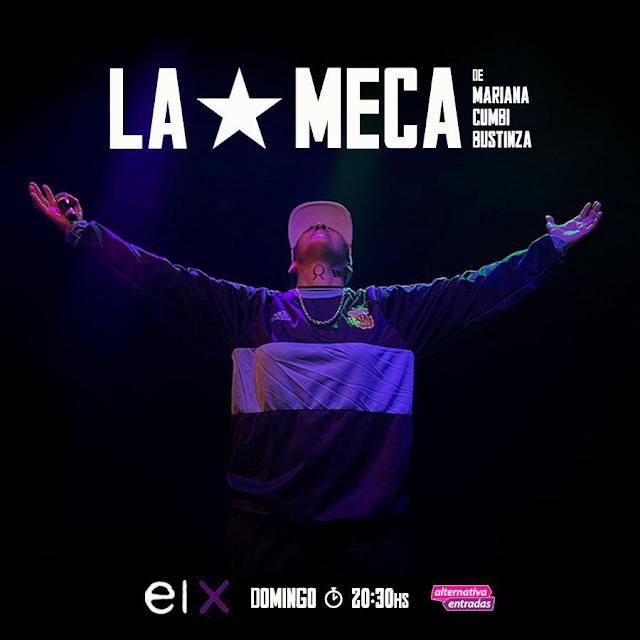 Unipersonal LA MECA una nueva obra de Mariana Cumbi Bustinza Teatro El Extranjero Domingo 20.30 hs Beneficio VIP MB 30% OFF