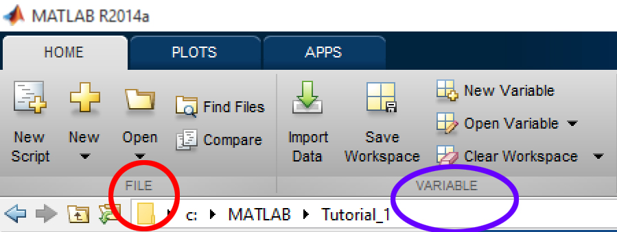 FILE sub-section in MATLAB