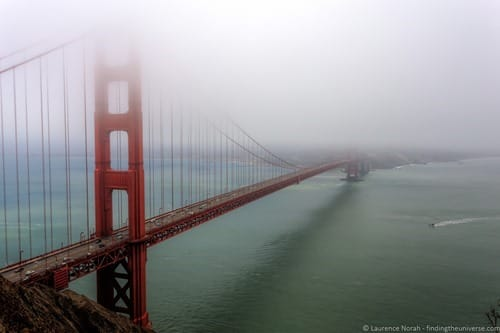 Battery Spence San Francisco Golden Gate Bridge