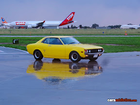 Yellow TA22 Celica