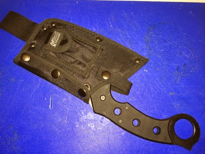 MTECH Tactical cleaver - its got nylon, but better without