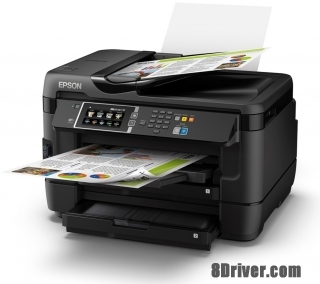 download Epson WorkForce WF-7620DTWF printer's driver