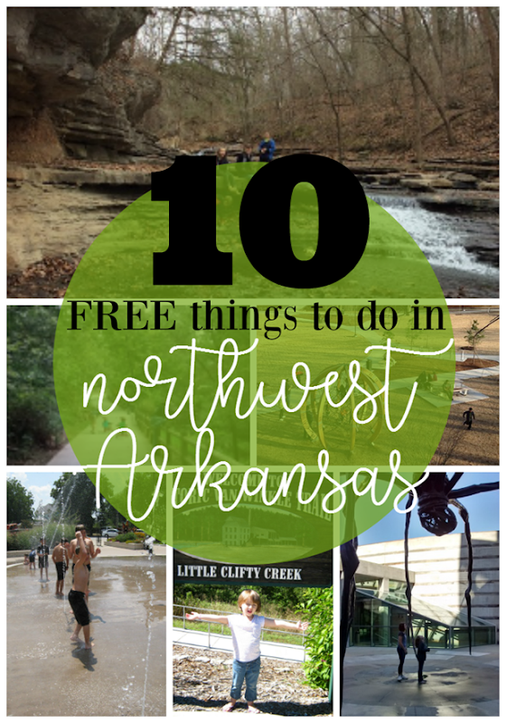 10 Free Things to Do in Northwest Arkansas at GingerSnapCrafts.com #northwestarkansas #ad