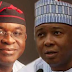 David Mark, Senate President Bukola Saraki split N-Central, NASS