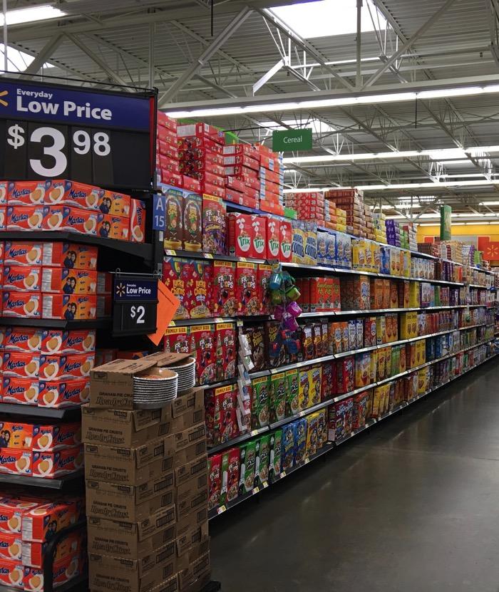 Kelloggs at Walmart