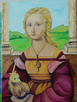 Raphael Lady With Unicorn