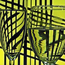 glasses by Bojan Dobrovodski - Abstract Patterns
