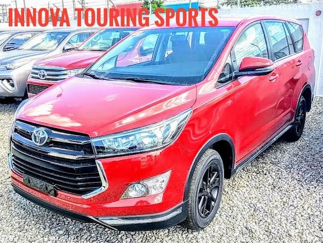 PHOTOS: Innova Touring Sports - Red Mica Metallic
