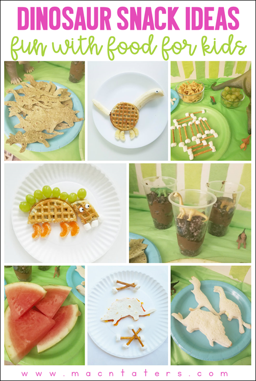 Dinosaur Themed Snack Ideas for Kids