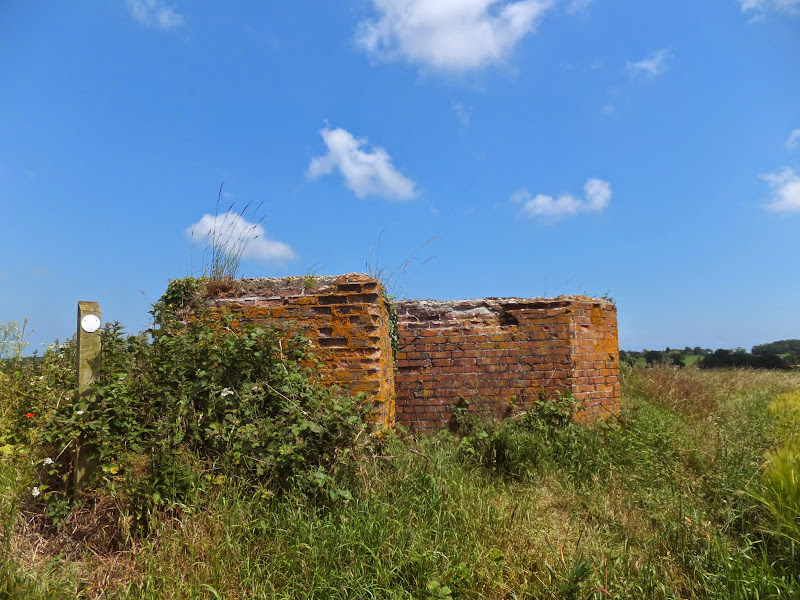 old pill box on the footpath through to Meeting Hill Road