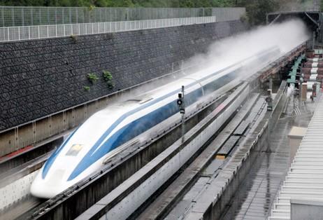 Vật liệu siêu dẫn, Tàu siêu tốc chuyển động trên đệm từ trường