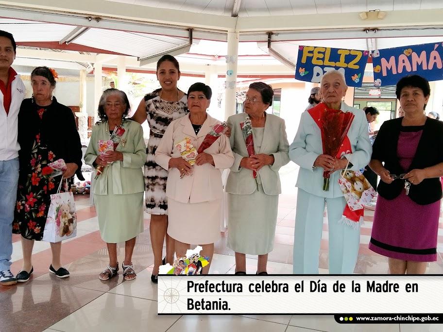 PREFECTURA CELEBRA EL DÍA DE LA MADRE EN BETANIA