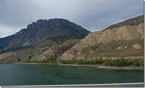 Bridge over Thompson River, Trans-Canada Highway  BC