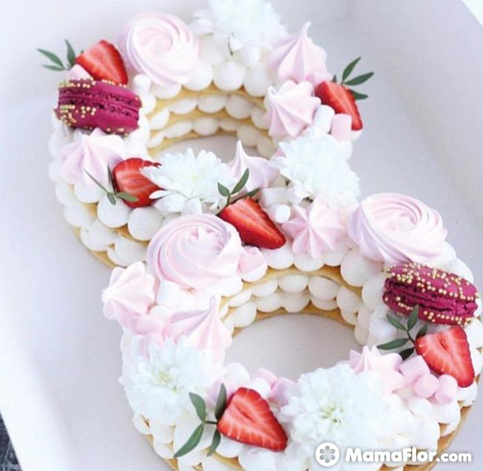 tortas con números 18