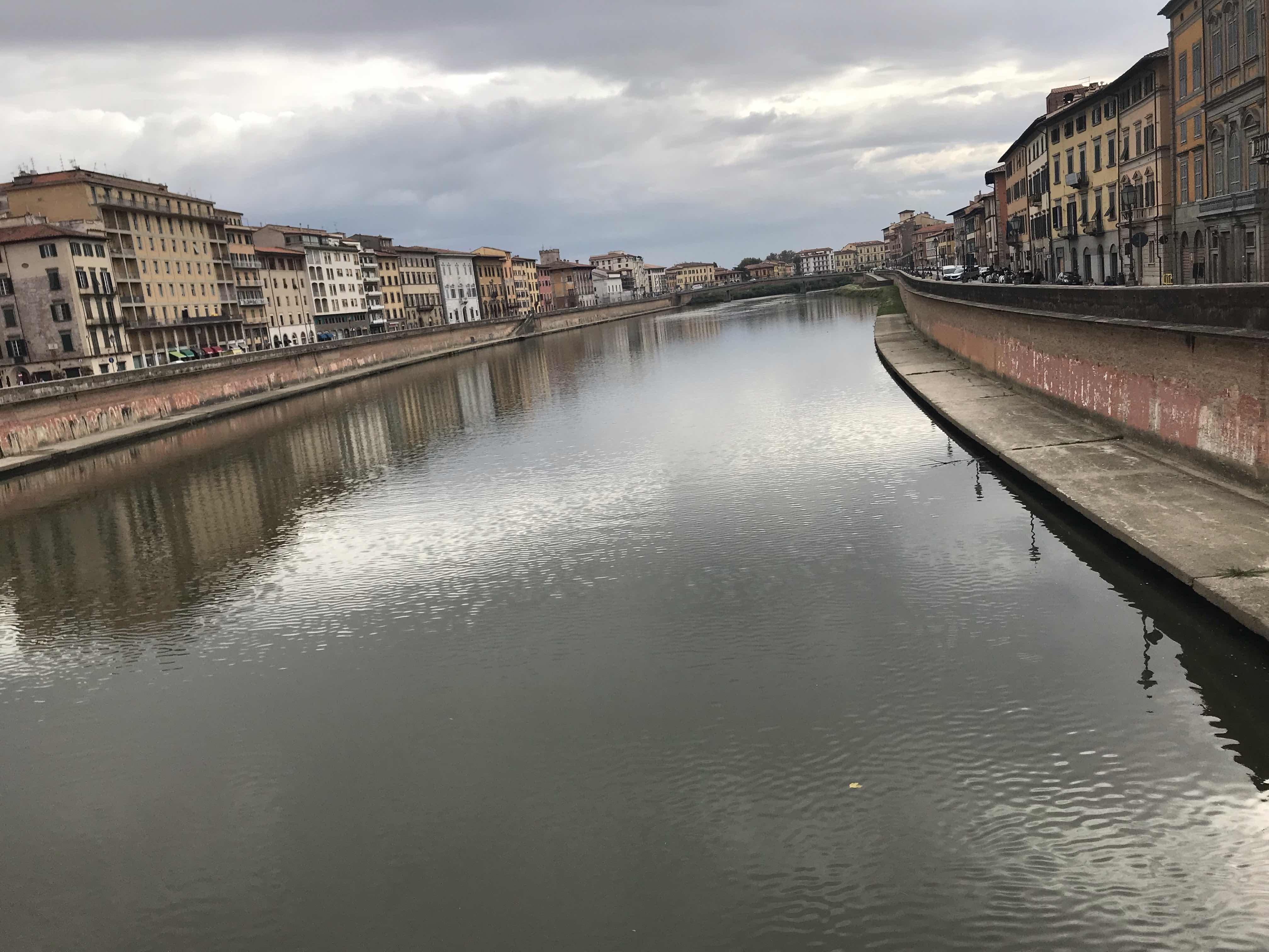 River Arno in Pisa - Ponte Mezzo I think