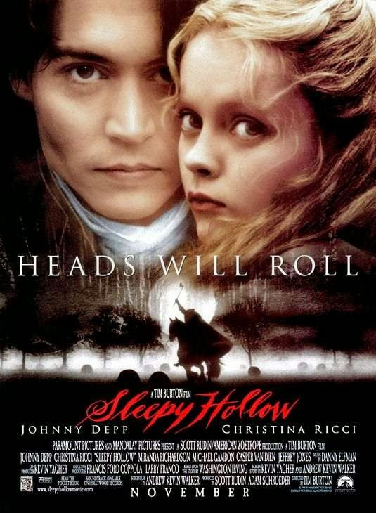 Poster Of Sleepy Hollow (1999) Full Movie Hindi Dubbed Free Download Watch Online At Alldownloads4u.Com