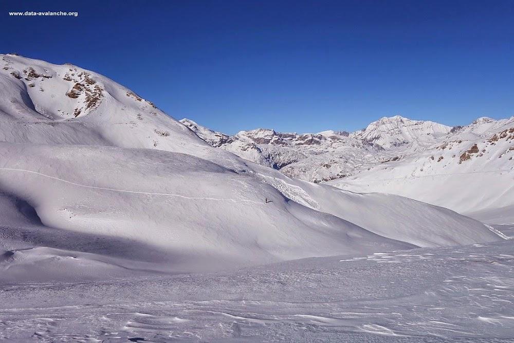 Avalanche Haute Maurienne, secteur Signal du Petit Mont Cenis, Mont Froid - Photo 1