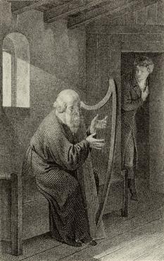 Der Harfner - G. Naeke