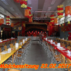 I. Laarer Mädchensitzung 23.02.2017