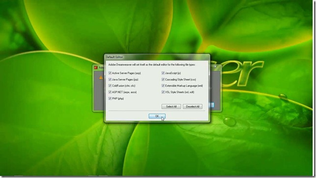 Cara Instal Adobe Dreamweaver CS6