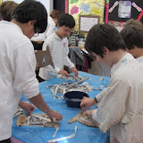 Yr 6 - Tribal masks and Stained glass windows