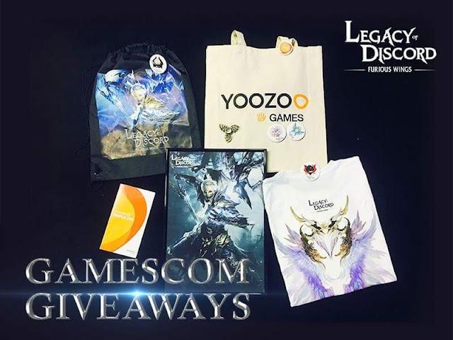 Legacy of Discord Gamescom Etkinliği Elmas Kazanma Şansı