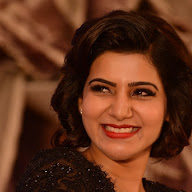 Samantha at A Aa Success Meet