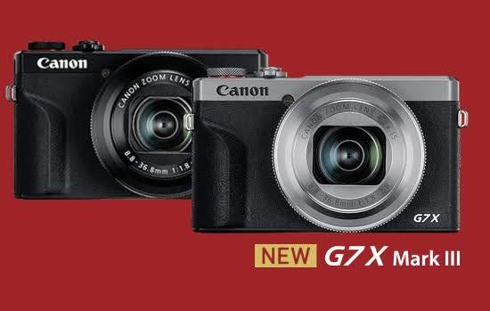 Canon G7X mark3発表!Sony RX100 M5と比較 RX100 M7も見逃せない