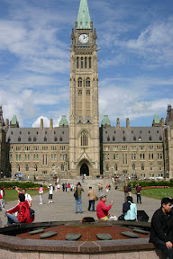 Eternal Flame and Peace Tower