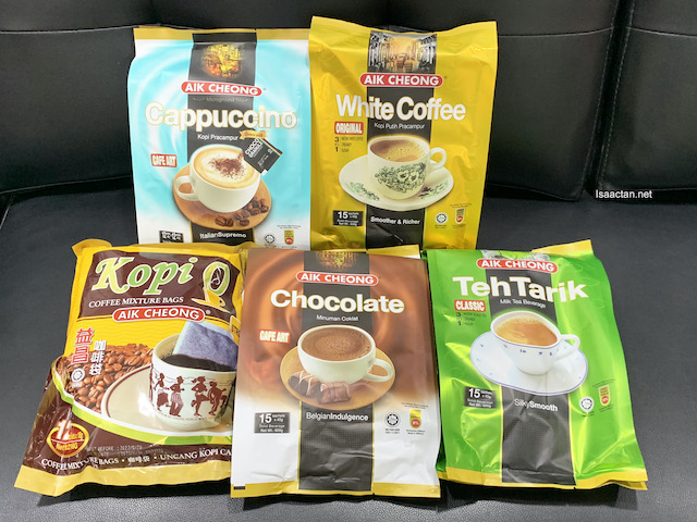Aik Cheong Coffee's other products
