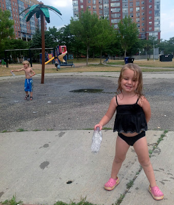 POD: Swimming and the Splash pad