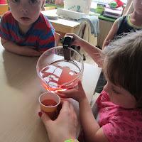 Waterijsjes maken (3-jarigen)