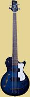 KTone 5 string hollowbody Bass Guitar