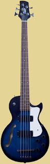 KTone 5 string hollowbosy Bass
