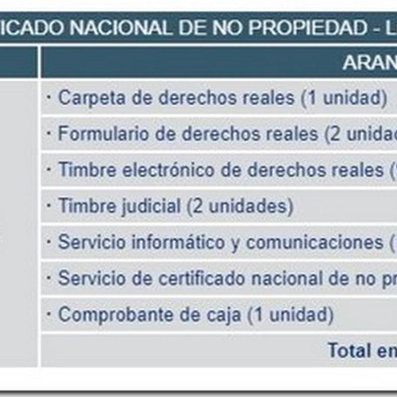 """Bolivia: Requisitos y costos para obtener el """"Certificado Nacional De No Propiedad - Ley 247"""" en Derechos Reales"""