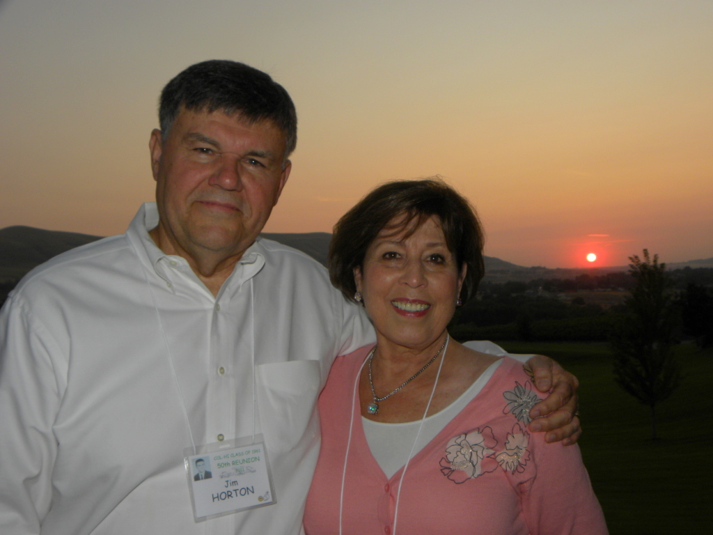 Jim and Barbara Mosteller Horton