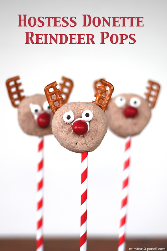 Hostess Donette Reindeer Pops