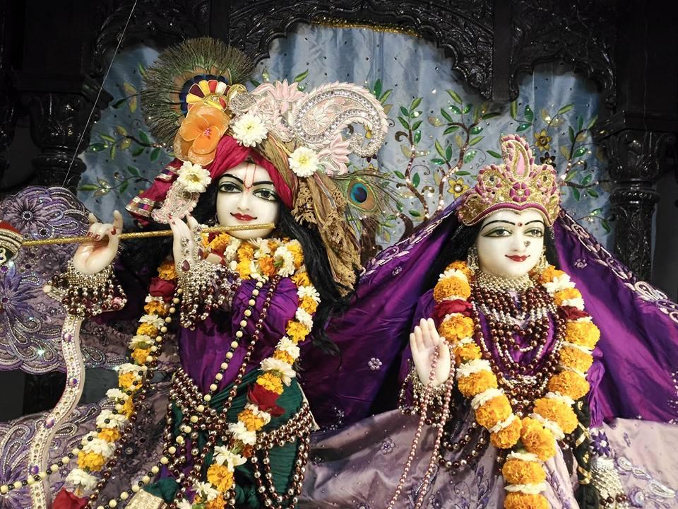 ISKCON Rajkot Deity Darshan 01 Jan 2017 (1)