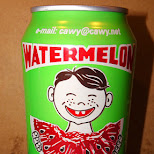 watermelon soda in Miami, Florida, United States