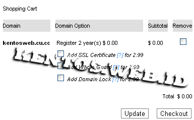 Shopping cart domain gratis cu.cc Cara Mendaftar dan Setting Domain Gratis CU.CC