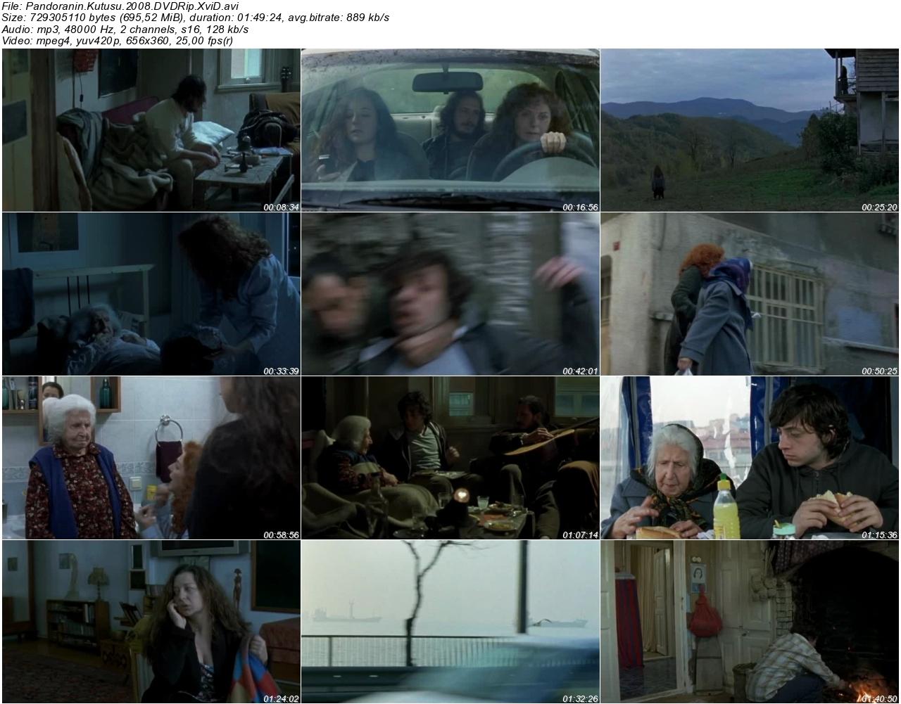 Pandoranın Kutusu 2008 - DVDRip XviD - Tek Link indir