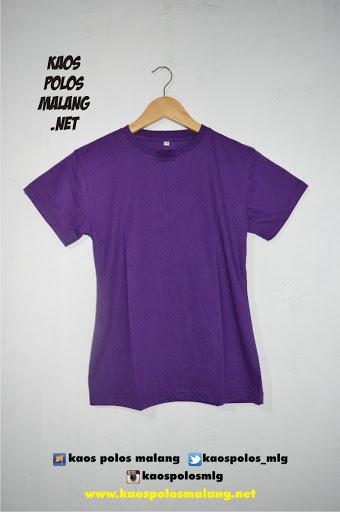 kaos polos malang ungu