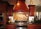 Vineyard Kitchen Backsplash Idea Online