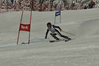 Big White K1 Provincials Ladies GS Race 1, Mar 18 2012 - Dickson Wong