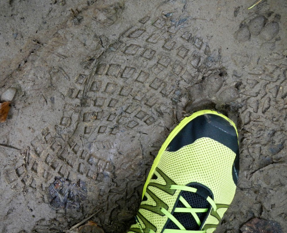 Inov-8 Trailroc 235 mud print